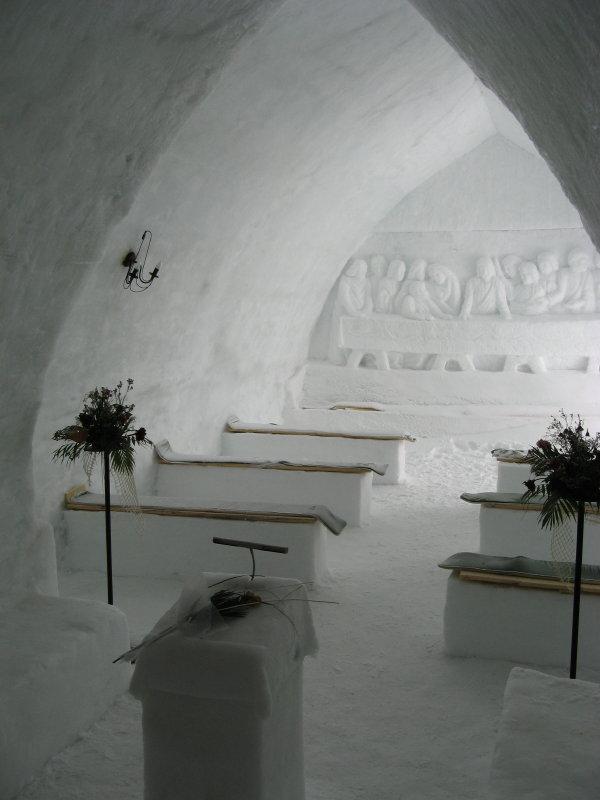 Eiskirche, Bielea-See, Fogarasch, Rumänien, 2008